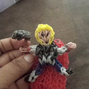 Thor from The Avengers Rainbow Loom Charm