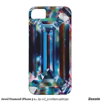 Jewel Diamond iPhone 5 case from Zazzle.com