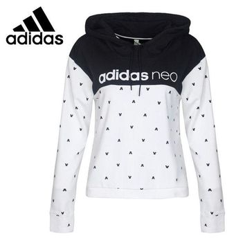 ONETOW Original New Arrival 2017 Adidas NEO Label W HDY Women's Pullover Hoodies Sportswear
