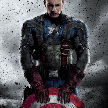 Marvels Avengers Captain America Poster Wall Decor High Quality 16x20