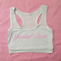 Spoiled Brat Crop Top