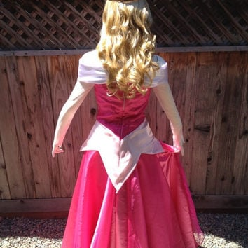 Sleeping Beauty 2013 Park Version Adult Costume in Classic Pinks