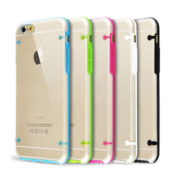 Ultra Thin Transparent Clear Glow in Dark Case Cover for iPhone 4 5 6 7 s Plus for Samsung Galaxy S4 S5 S6 edge Note 4 5