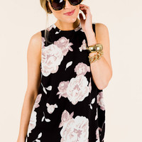 Tripp Sleeveless Top, Floral