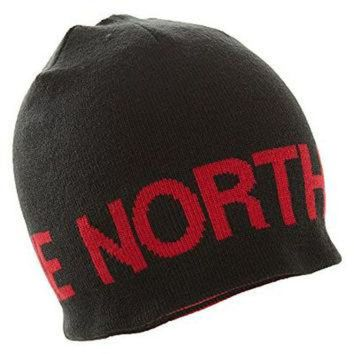DCCKIJG The North Face Mens Reversible TNF Banner Beanie - TNF Black/TNF Red