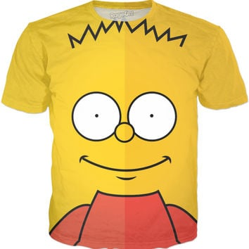 Bart Simpson - Minimal T-Shirt Design