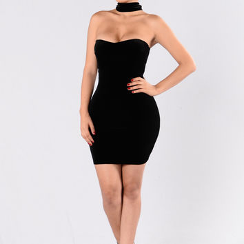 Nothing Compares Dress - Black