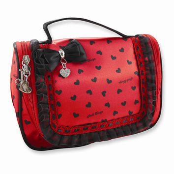 Love Travel/Cosmetic Bag Available in Red/Pink - Perfect Gift