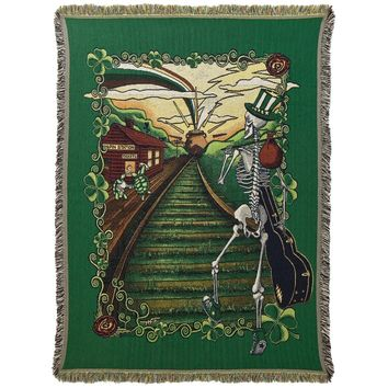 Grateful Dead - Lucky Sam Throw Blanket