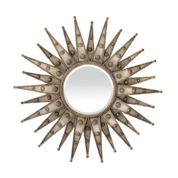 Centauri Starburst Beveled Mirror