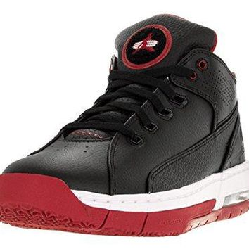 Nike Jordan Men's Jordan Ol'School Black/White/Gym Red Basketball Shoe Men US (15)