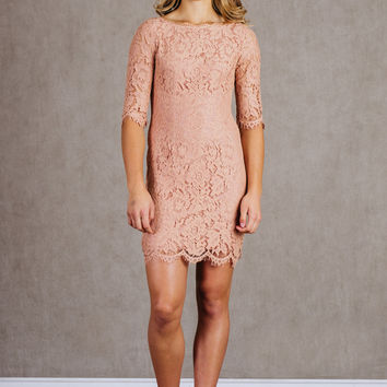 Lace Is The Way Dress