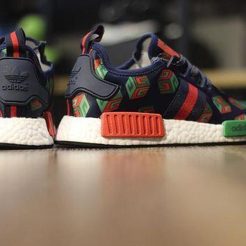 CREYGE2 Beauty Ticks Adidas Nmd Custom R_1 ???gucci??¨¤ Ba7258 Men Running Sneaker