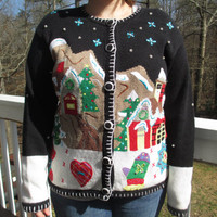 tacky Christmas sweater, tacky christmas vest, tacky sweater, tacky vest, christmas sweater, christmas vest, ugly christmas sweater. x-mas