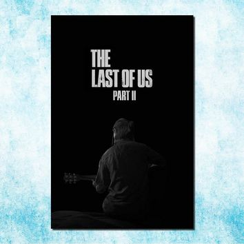 The Last Of Us Art Silk Canvas Poster Print Zombie Survival Horror Action TV Game Pitcures 13x20 24x36 inches (more)-6