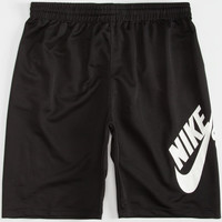 Nike Sb Mesh Swoosh Boys Dri-Fit Shorts Black  In Sizes