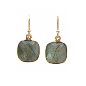 Flashy Labradorite Earrings