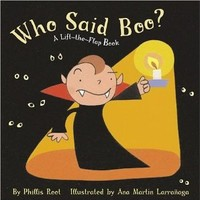 Who Said Boo?: A Lift-the-Flap Book