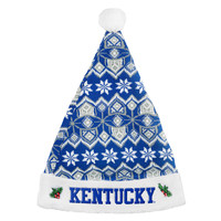 Kentucky Wildcats Knit Santa Hat - 2015