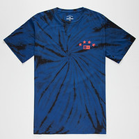 FOURSTAR Athletic Tie Dye Mens T-Shirt | Graphic Tees
