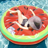 Giant Inflatable Watermelon Pool Float