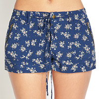 Soft Woven Floral Shorts