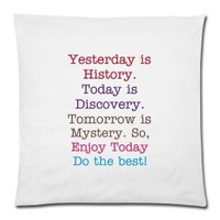 quotation pillow case | K-POP