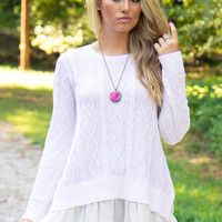 Fairytale Sweater - Final Sale