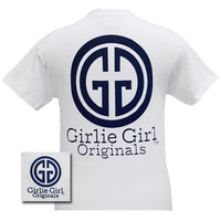 Girlie Girl Originals GGO Logo Preppy White Bright T Shirt