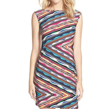 Women's Trina Turk 'Felana 2' Jersey Body-Con Dress,