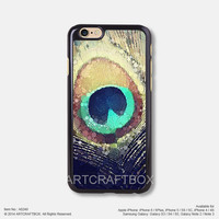 Peacock feather Water Color Free Shipping iPhone 6 6Plus case iPhone 5s case iPhone 5C case 249