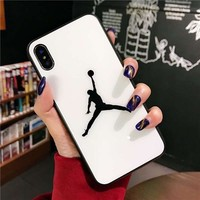 Jordan Protective Iphone Case - White