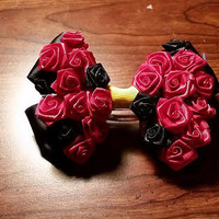 Queen of Hearts inspired Disney hair bow