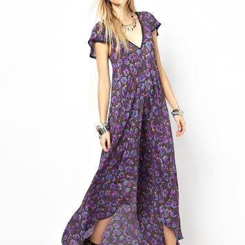 Zadig and Voltaire Reino Roses Maxi Dress