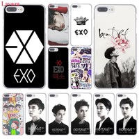Lavaza Kpop exo Lucky one Hard Coque Shell Phone Case for Apple iPhone 8 7 6 6S Plus X 10 5 5S SE 5C 4 4S Cover