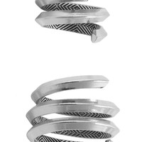 House of Harlow 1960 Jewelry Caral Culture Ring Set