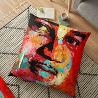'Whitney Young' Floor Pillow by truthtopower