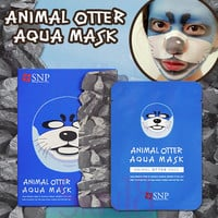 SNP Animal Otter Aqua Mask   *exp.date 08/18*