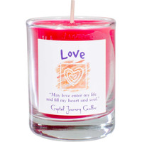 Soy Herbal candle for Love
