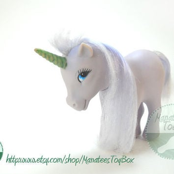 1980s Totsy Unicorn Toy MLP Fakie Knock-off
