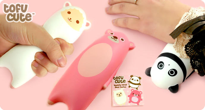 Kawaii Squishy Animal Wrist Rest : Buy Kawaii Squishy Animal Wrist Rest at from tofucute.com I