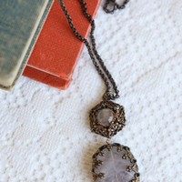 Victorian Afternoons Indie Necklace | Modern Vintage Jewelry