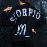 Scorpio - Astrology Collection - Light Weight Spirit Jersey® with Ribbed Hem