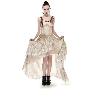 Victorian Gothic Vampire Lace Steampunk Dress
