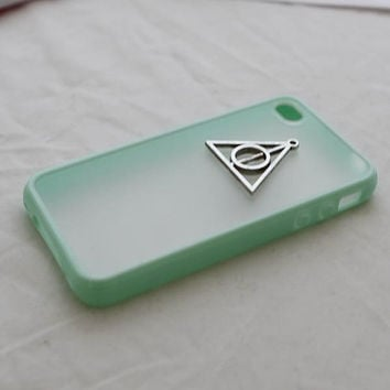 DURABLE iphone 4 case iphone 4s case -harry potter Deathly Hallows iphone case