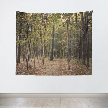 In the Woods 1 Tapestry