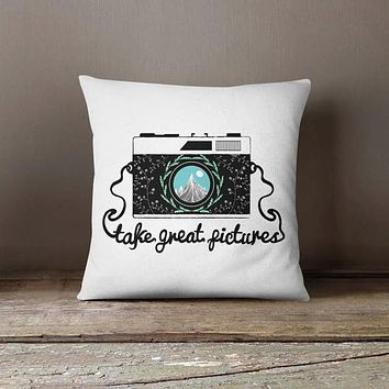 Great Pictures Photo Camera Pillowcase |
