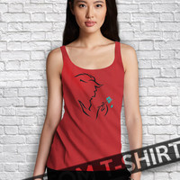 Beast from Beauty and The Beast Disney Women Tanktop - Lzi Tanktop For Men  / Custom - Tanktop / Men Tanktop