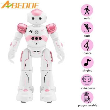 New Intelligent Robot Toy JJRC R2 RC Gesture Control Robot USB Charging Support Gesture Induction/Cruise Function/Song Dance