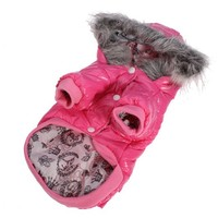 Lesypet Dog Puppy Winter Warm Hooded Coat Jacket Snowsuit Clothes Apparel